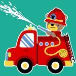 Animal Firetrucks Match 3