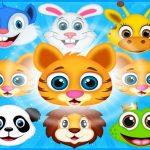 בעלי חיים קראש התאמה 3 צעצוע קראש