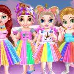 מסיבת חד קרן הנסיכה התינוקת
