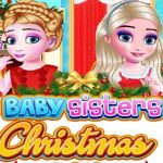 Baby Sisters Christmas Day