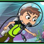 בן 10 מתחת להרפתקאות הים
