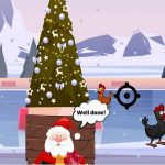Christmas Chicken Shoot