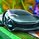 Concept Car Stunt