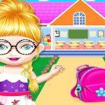 קישוט בית בובות למשחק ילדה ברשת
