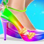 מעצבת עיצוב יצרני נעליים אופנה