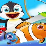 Fish Games For Kids  Trawling Penguin Games online