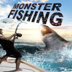 דיג מטורף. הוק מפלצת דגים האכלת טירוף