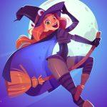 מכשפה פלאפית