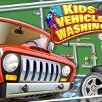 מוסך שטיפת רכב לילדים לבנים