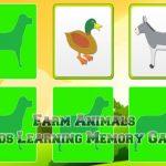 Kids Learning Farm Animals