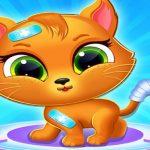 טיפול רופא חתול קטן