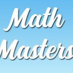 מאסטרים במתמטיקה