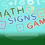 משחק סימני מתמטיקה