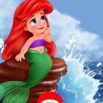 הלבשת נסיכת בת הים
