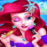 איפור נסיכת בת הים – משחק סלון אופנה לילדות