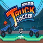 משאית מפלצת לטפס כדורגל
