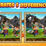 Pirates 5 Differences