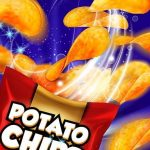 משחק מפעל צ'יפס תפוחי אדמה