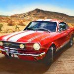 נהג מהירות – מירוץ מכוניות דו-ממדי