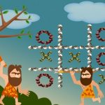Tic Tac Toe Stone Age