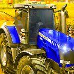 Village Farming Tractor
